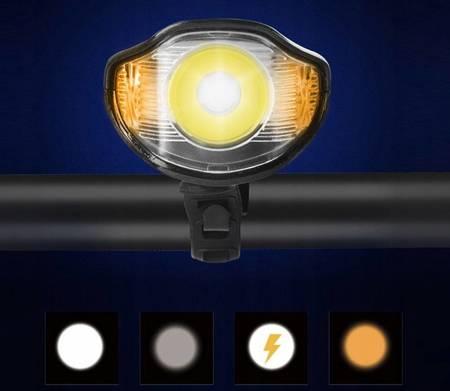 ZESTAW ROWEROWY LAMPKA LED  ŚWIATŁO TYŁ